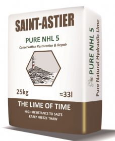 St Astier Natural Hydraulic Lime NHL 5 (25kg)